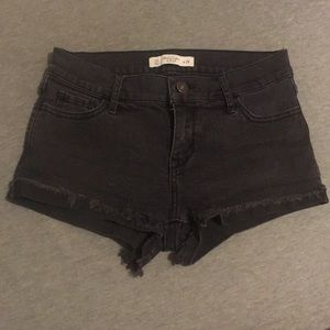 Abercrombie and Fitch black shorts